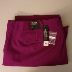 Lane Bryant Size 24 Lena Crop Pants